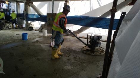Concrete Floor Leveling Godfrey Hotel