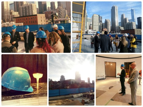 We hosted a Hard Hat Tour with our partners and media on Oct. 29, 2013.