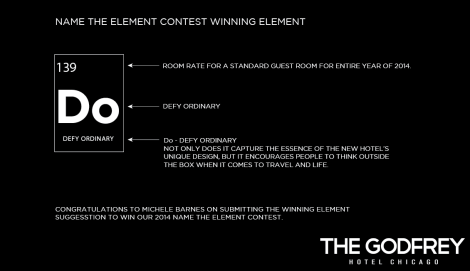 Name the element contest winner