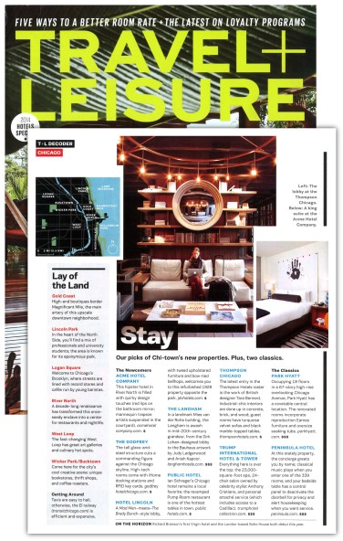Travel + Leisure - March 2014