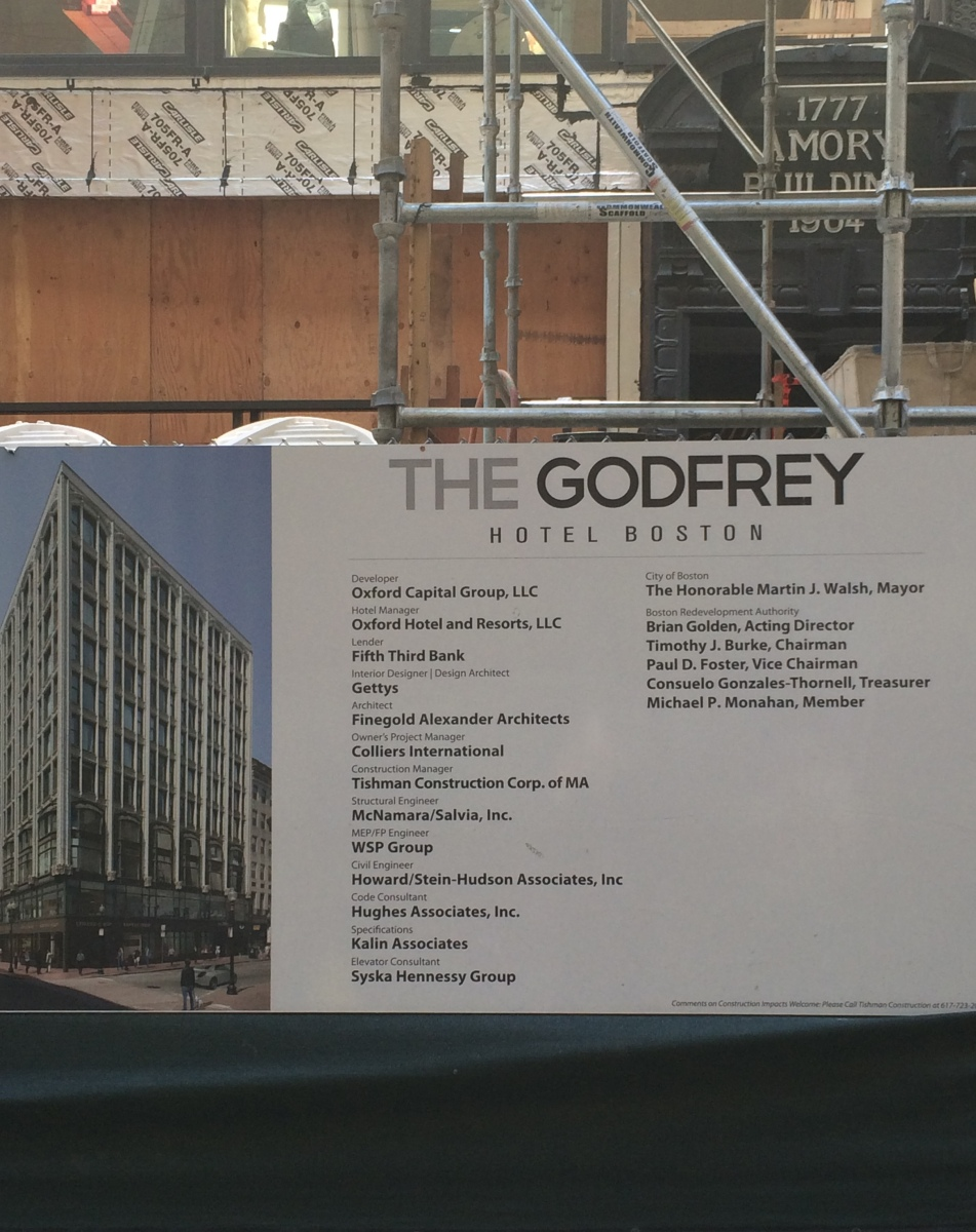 The great collaboration building the godfrey hotel for Godfrey design build