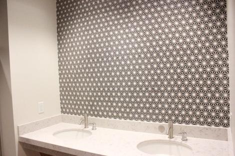 Godfrey Hotel Restroom Tiles